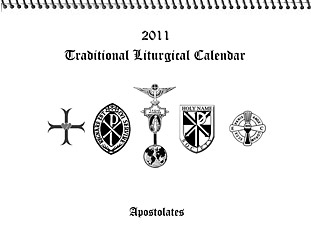 2011 Traditional Liturgical Calendar
